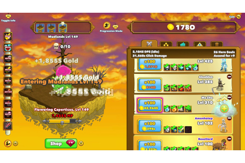 Clicker Heroes (Xbox One) How to Best Grind Hero Souls ...