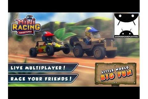 Mini Racing Adventures Android GamePlay Trailer (1080p ...