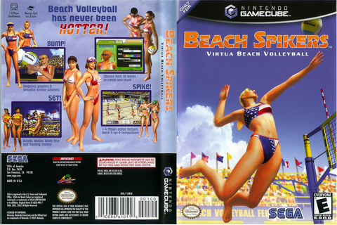 GBSE8P - Beach Spikers: Virtua Beach Volleyball