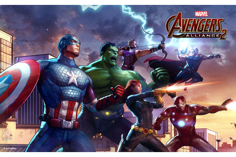 Marvel: Avengers Alliance 2 turn-based team RPG for ...