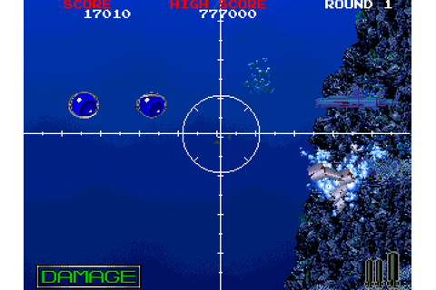 Battle Shark (1989) Arcade game