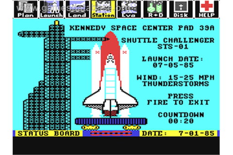Project: Space Station - Commodore 64 - Games Database