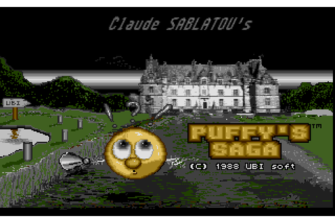 Puffy's Saga (1988) by Ubi Soft Atari ST game
