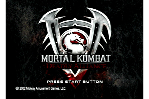 Game: Mortal Kombat: Deadly Alliance [PlayStation 2, 2002 ...
