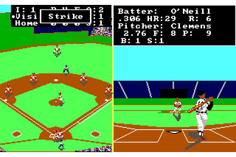 Download Earl Weaver Baseball sports for DOS (1987 ...