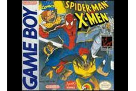 Game Boy Spider-Man and the X-Men: Arcade's Revenge Video ...