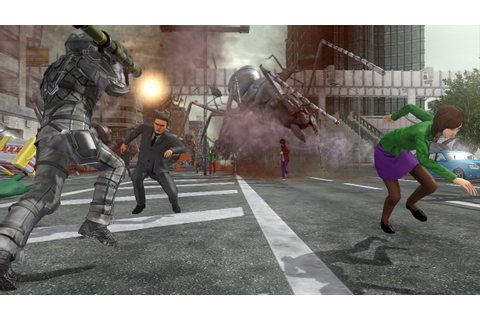 Earth Defense Force 2025 PS3 Review: You vs. GIANT INSECTS ...