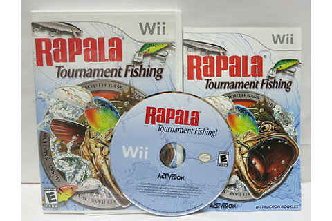 Rapala Tournament Fishing Nintendo Wii Fish Game ...