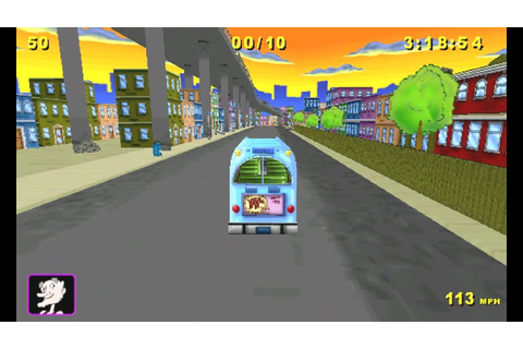Hey Arnold! Runaway Bus (Windows game 2002) - YouTube