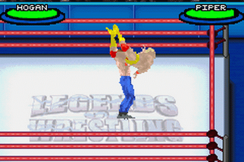 Play Legends of Wrestling II Nintendo Game Boy Advance ...