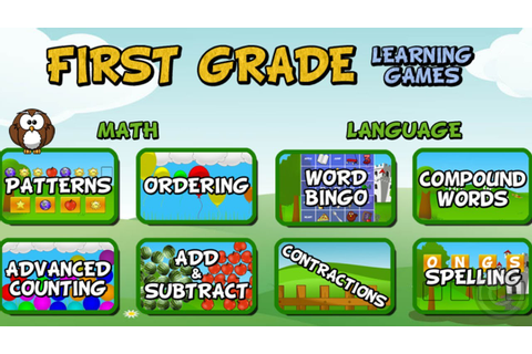 First Grade Learning Games - iPhone & iPad Gameplay Video ...