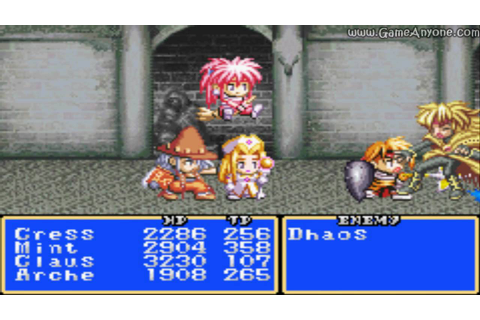 Tales of Phantasia (GBA) (English) - 711share