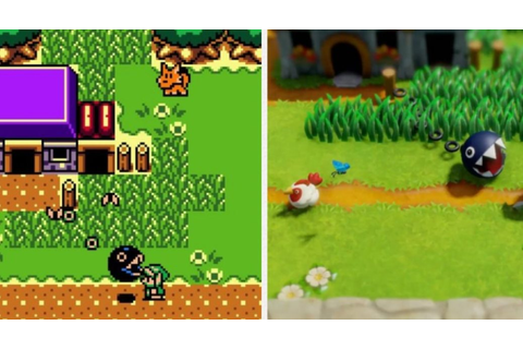 Here's A Comparison Of The Legend Of Zelda: Link's ...