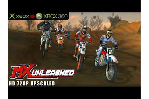 MX Unleashed - Gameplay Xbox HD 720P (Xbox to Xbox 360 ...