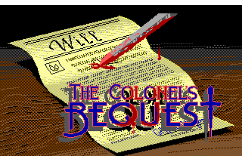 The Colonel's Bequest (1989) by Sierra On-Line MS-DOS game