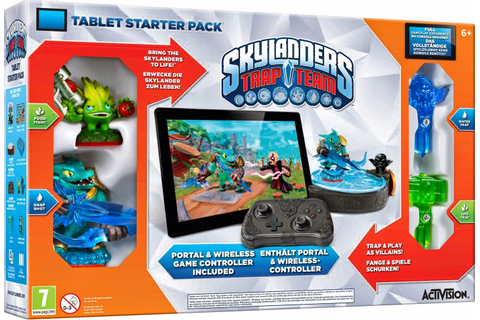 Lucky Me 123: Skylanders Trap Team Tablet Starter Packet