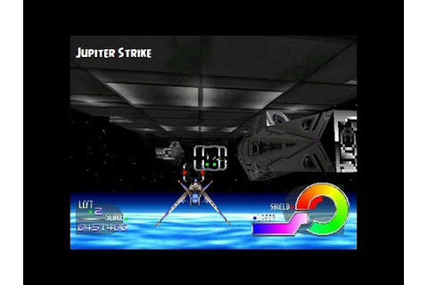 Jupiter Strike PS1 Playthrough - Star Fox : The ...
