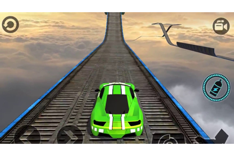 IMPOSSIBLE CAR 3D STUNT TRACKS 2018 - Android / iOS ...