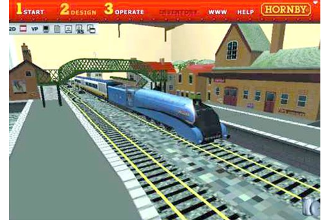 Hornby Virtual Railway PC CD ROM Build A Virtual Model ...