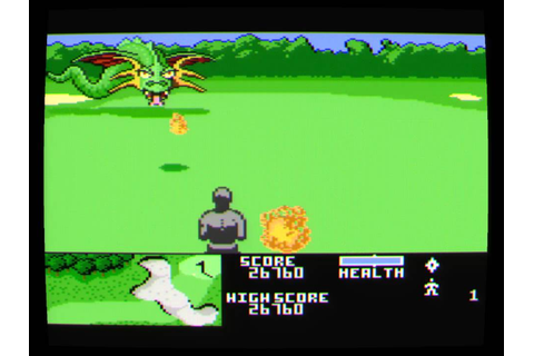 Atari 7800 Ninja Golf - YouTube