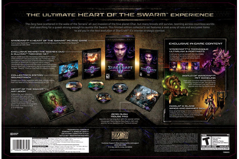 Amazon.com: StarCraft II: Heart of the Swarm -Collector's ...