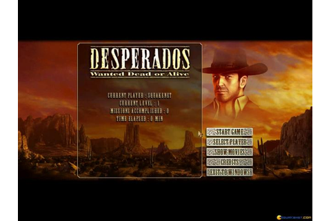 Desperados: Wanted Dead or Alive download PC
