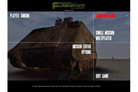 Download Game: Download Operation Flashpoint Cold War Crisis
