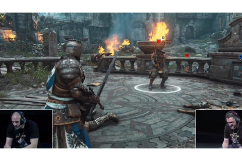 Watch gameplay from For Honor, Ubisoft's new knights ...