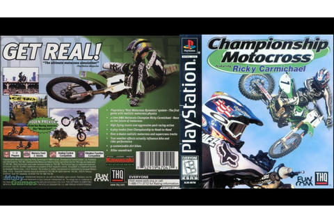 [PS1] Championship Motocross Featuring Ricky Carmichael ...