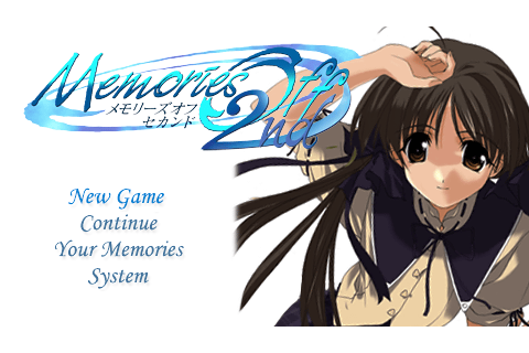 Memories Off 2nd - Download Game PSP PPSSPP PSVITA Free