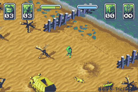 Army Men: Operation Green (Game Boy Advance) - West Papua