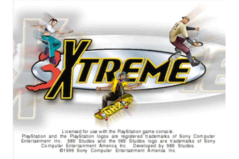 3Xtreme – Game Art and Screenshots Gallery