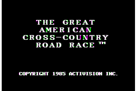 The Great American Cross-Country Road Race (4am crack ...