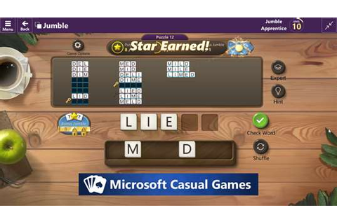 Microsoft Ultimate Word Games for Windows 10 PC Free ...