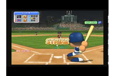 MLB Power Pros 2008 (Wii) NLDS Game #1 Rockies @ Cubs ...