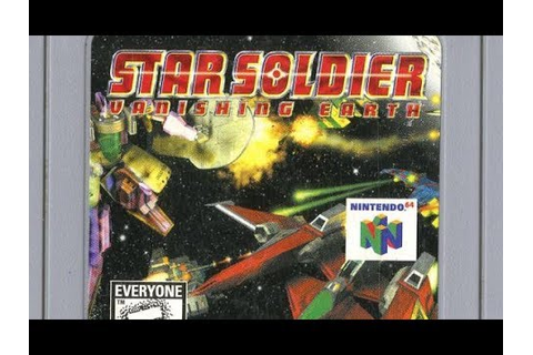 Classic Game Room - STAR SOLDIER: VANISHING EARTH review ...