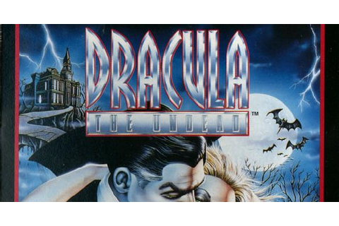 Deadpan Flook's Gruesome Games!: Dracula - The Undead ...