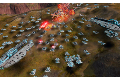 Stardock Reveals Ashes of the Singularity – Nitrous Engine ...