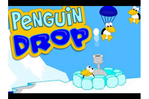 Penguin Drop game fun brain learning games for kids - YouTube