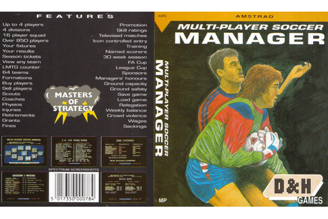 CPCRULEZ > AMSTRAD CPC > GAMESLIST > MULTI-PLAYER SOCCER ...