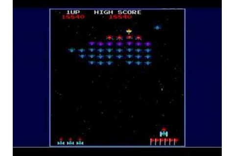 Galaxian - 80's flashback! - YouTube