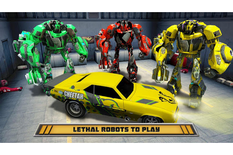 Download Autobots Robot Car War Games for PC