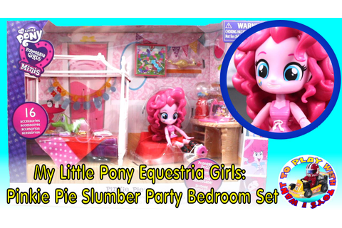 My Little Pony Equestria Girls: Pinkie Pie Slumber Party ...