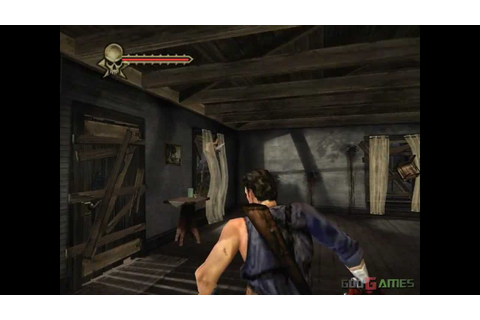 Evil Dead: Regeneration - Gameplay PS2 HD 720P - YouTube