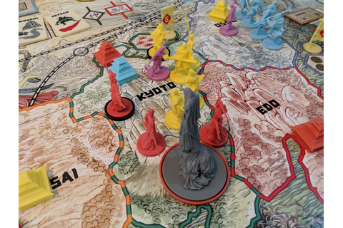 Rising Sun Review - Board Game Barrage