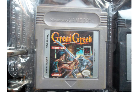 Great Greed, Namco, 1993 collected in Nintendo Game Boy by ...