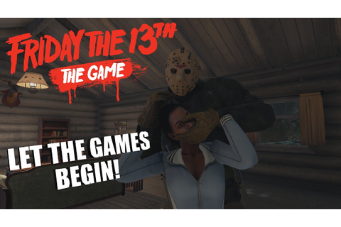 Friday The 13th: The Game JASON VOORHEES GAMEPLAY | LET ...