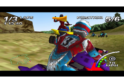 Game 76 - ATV Quad Power Racing - PS1 PSX PSone PS Sony ...