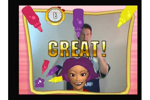 Let's Play EyeToy Play 3 - Beauty Salon (1) - YouTube