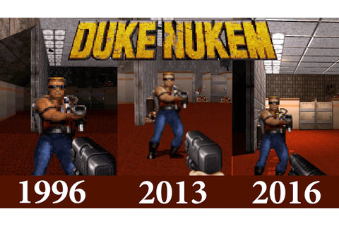 Duke Nukem 3D 20th Anniversary Comparison: World Tour vs ...